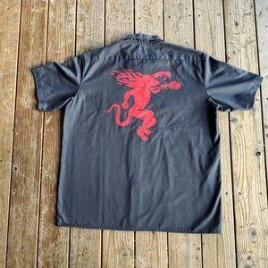 Dickies Fireball Cinnamon Whiskey Work Shirt 2XL
